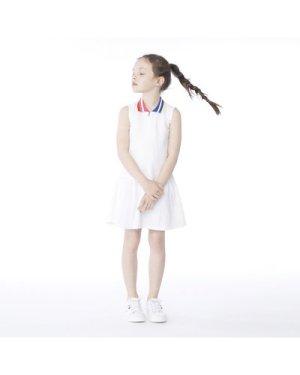 Sleeveless polo dress KARL LAGERFELD KIDS KID GIRL
