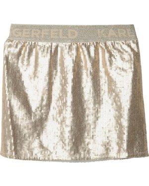 Sequined formal skirt KARL LAGERFELD KIDS KID GIRL