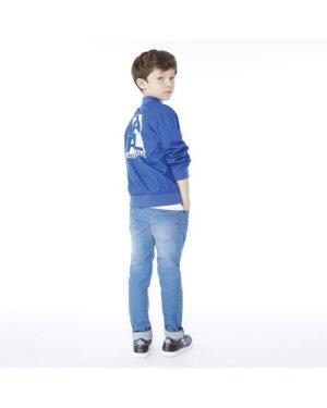 Bomber jacket with logo KARL LAGERFELD KIDS KID BOY
