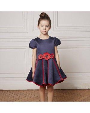 Luxurious satin dress CHARABIA KID GIRL