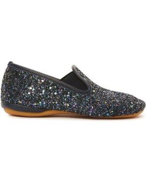 Glitter Elasticated Slippers