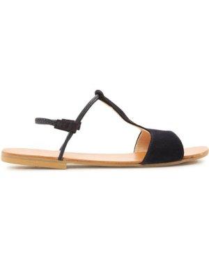 Mikonos Suede Sandals