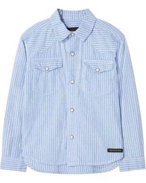 Dusk Popper Striped Shirt