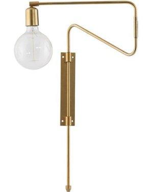 Swing Brass Wall Lamp