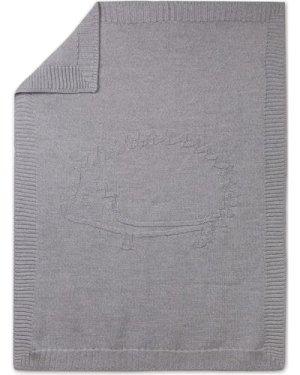 Wool and Acrylic Hedgehog Plaid 75x100cm