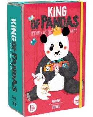 King of Pandas memory game