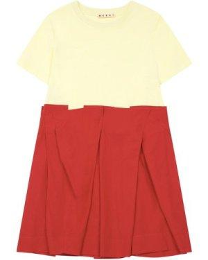 Two-fabrics Dress