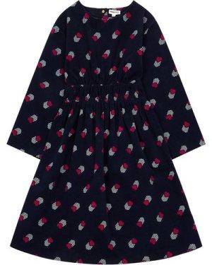 Velour heart dress