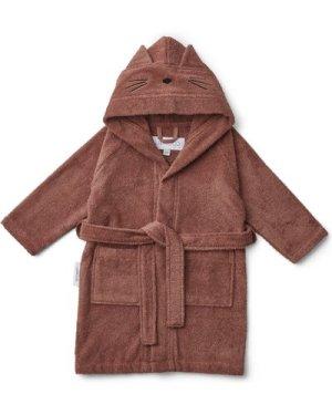 Lily Cat Organic Terry Cloth Robe