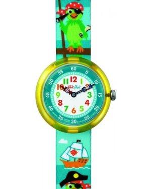 Childrens Flik Flak Parrot Of The Seas Watch FBNP009