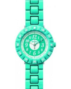 Childrens Flik Flak Turquoise Colour Shake Watch FCSP005