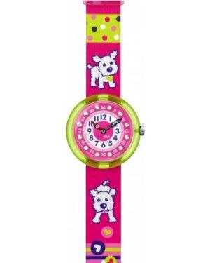Childrens Flik Flak Cute Size Wouf Wouf Watch FBNP031