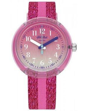 Flik Flak Pink Sparkle Watch ZFPNP053