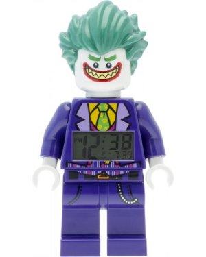 Childrens LEGO Batman Movie The Joker minifigure clock Alarm Watch 9009341