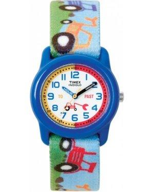 Timex Blue Tractor Tiem Teacher WATCH T7B611