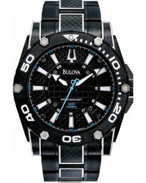 Mens Bulova UHF Precisionist Champlain Diver Watch 98B153