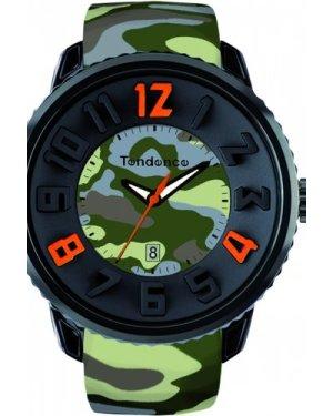 Unisex Tendence Gulliver Round Camouflage Watch T0430030
