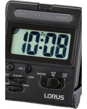 Lorus Clocks LCD Alarm Clock LHL024K