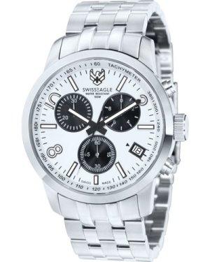 Mens Swiss Eagle Major Chronograph Watch SE-9036-22