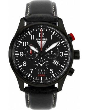 Mens Junkers Hugo Junkers Alarm Chronograph Watch 6680-2