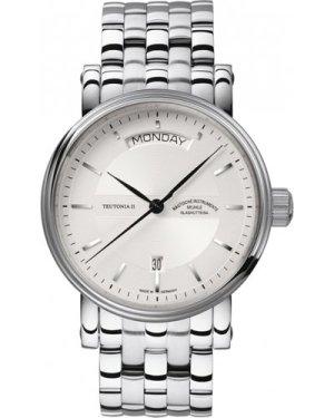 Mens Muhle Glashutte Teutonia II Tag/Datum Automatic Watch M1-33-65-MB