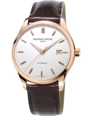 Mens Frederique Constant Index Slim Automatic Watch FC-303V5B4