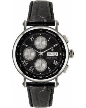 Mens Dreyfuss Co Valjoux Automatic Chronograph Watch DGS00050/20