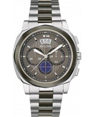 Mens Bulova Dress Chronograph Watch 98B233