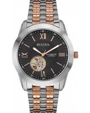 Mens Bulova Automatic Watch 98A144