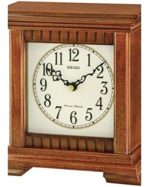 Seiko Clocks Wooden Chiming Mantel Clock QXJ028B