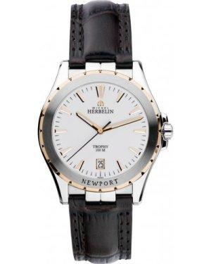 Mens Michel Herbelin Newport Trophy Watch 12275/TR11MA