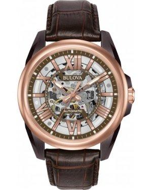 Mens Bulova Automatic Automatic Watch 98A165