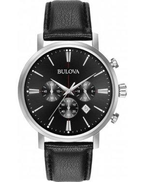 Mens Bulova Aerojet Chronograph Watch 96B262