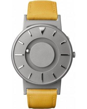 Unisex Eone The Bradley Canvas Mustard Yellow Strap Titanium Watch BR-C-YELLOW