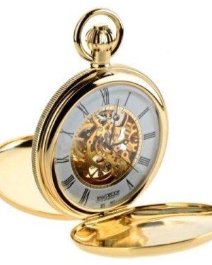 Jean Pierre Double Hunter Pocket Mechanical Watch JP-G256PM