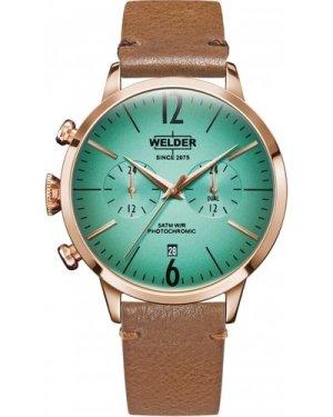 Unisex Welder The Moody 42mm Dual Time Watch K55/WWRC211