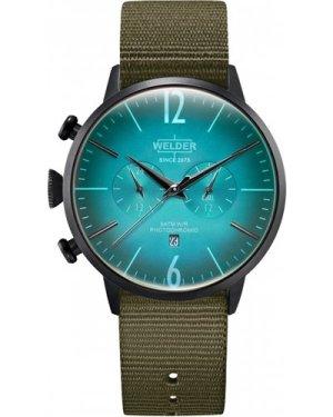 Unisex Welder The Moody 45mm Dual Time Watch K55/WWRC502