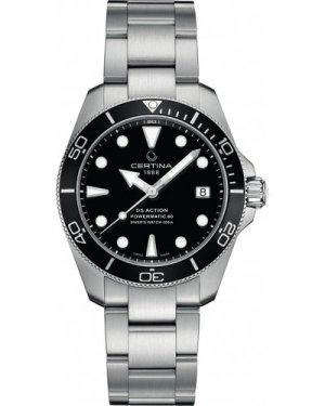 Certina DS Action Powermatic 80 38mm Watch C0328072205100