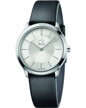 Unisex Calvin Klein Minimal 35mm Watch K3M221C6