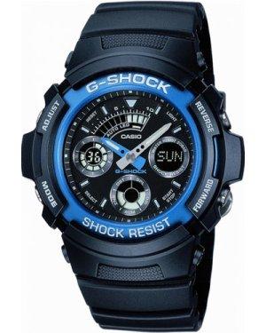 Mens Casio G-Shock Alarm Chronograph Watch AW-591-2AER