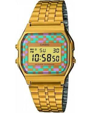 Unisex Casio Classic Alarm Chronograph Watch A159WGEA-4AEF