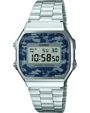 Unisex Casio Classic Alarm Chronograph Watch A168WEC-1EF