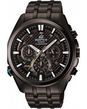 Mens Casio Edifice Chronograph Watch EFR-537BK-1AVEF