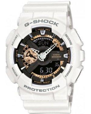 Mens Casio G-Shock Alarm Chronograph Watch GA-110RG-7AER