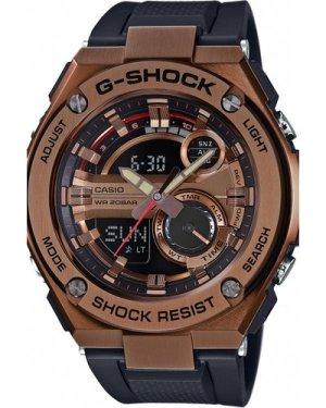 Mens Casio G-Steel Alarm Chronograph Watch GST-210B-4AER