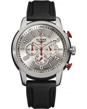 Mens Elysee The Race I Chronograph Watch 80523S