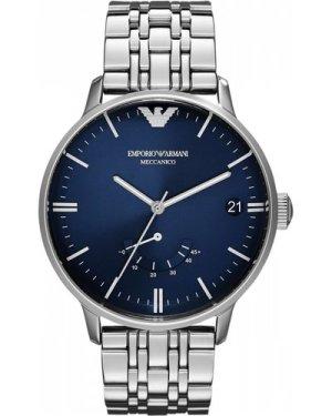 Mens Emporio Armani Meccanico Automatic Watch AR4658