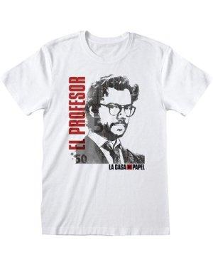 La Casa De Papel Money Heist El Professor Men's T-Shirt