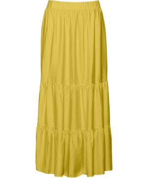 sunglow skirt    royal yellow - S/M