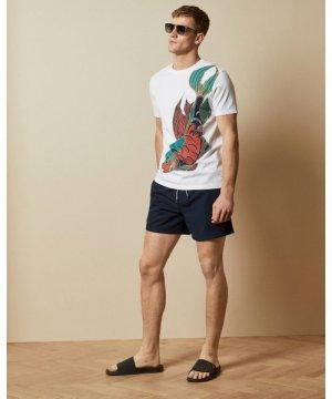 Cotton Printed Swim T-shirt
